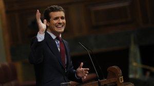 Pablo Casado ha demanat la il·legalització d'ARRAN i els CDRs