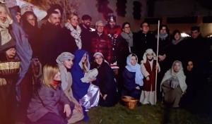 Pessebre de la Hermandad Nuestra Señora del Rocío de Rubí en edicions anteriors