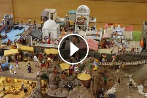Playmobil centra el pessebre de Castelldefels