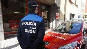 Policía Local de Gijón tuvo mucho trabajo durante los días 22 y 23 de diciembre