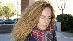 Rocío Carrasco en una de sus últimas apariciones públicas.