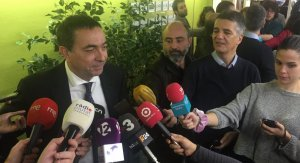 Roda de premsa del president de l'AEQT, Josep Francesc Font