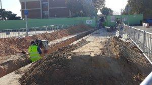 S'inicien les obres en les instal·lacions del CEIP Trullás