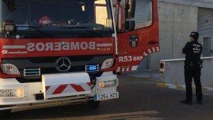 Un incendio obliga a desalojar el Hotel JC1 de Murcia