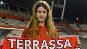 Valentina Berr, primera jugadora de futbol 'trans' de Catalunya