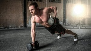 Weight training with free weights helps to improve your muscular strength.