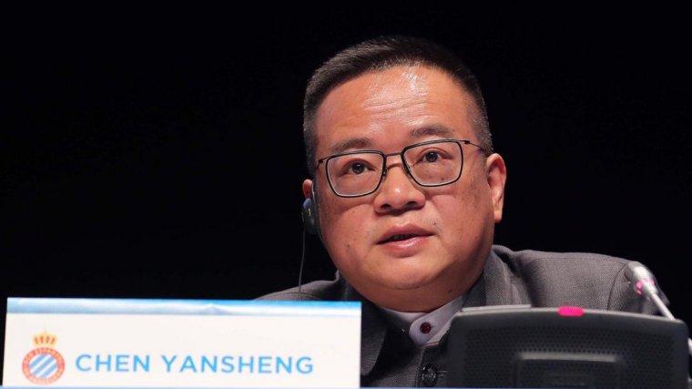 Chen Yansheng ha defensat que creu en el projecte blanc-i-blau i que no vol vendre el club