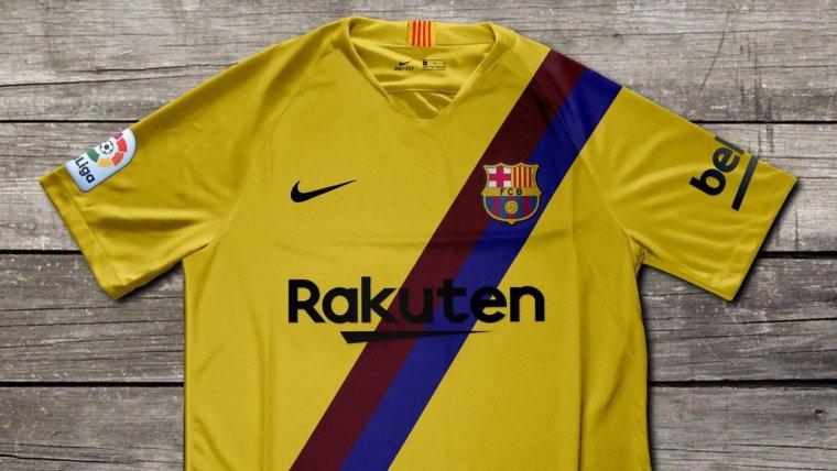 Disseny de la segona samarreta del Barça per a la temporada 2019 20. a685a36de2d