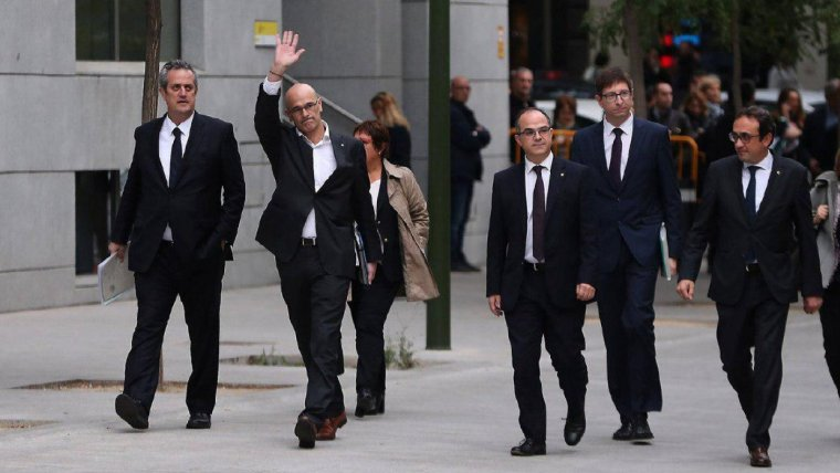 El judici contra els líders del procés començarà el pròxim 18 de desembre