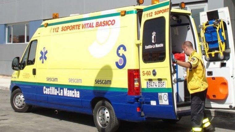 Un joven de 15 años herido en un accidente en Alcázar de San Juan