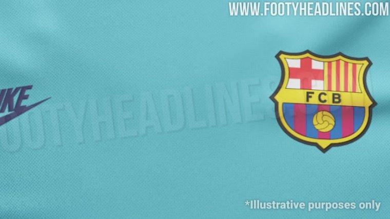 El color de la possible samarreta del Barça pel curs 2019-20 ac69604ee62