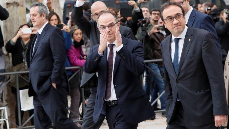 Joaquim Forn i Josep Rull han deicidit sumar-se a la vaga de fam