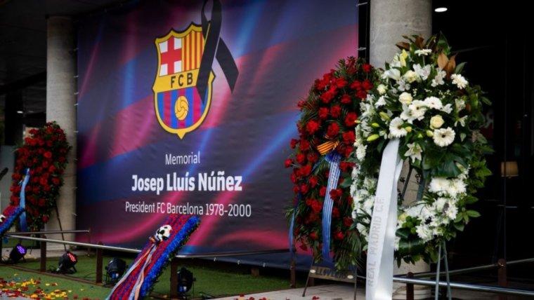 Espai Memorial en record de Josep Lluis Núñez.