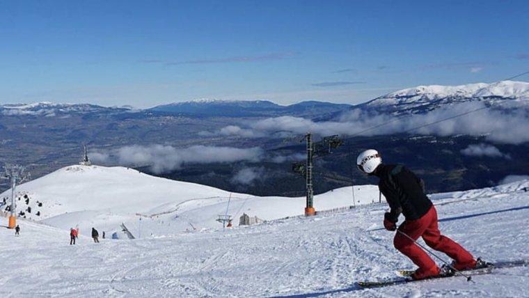 Esquiador a la Masella aquest novembre