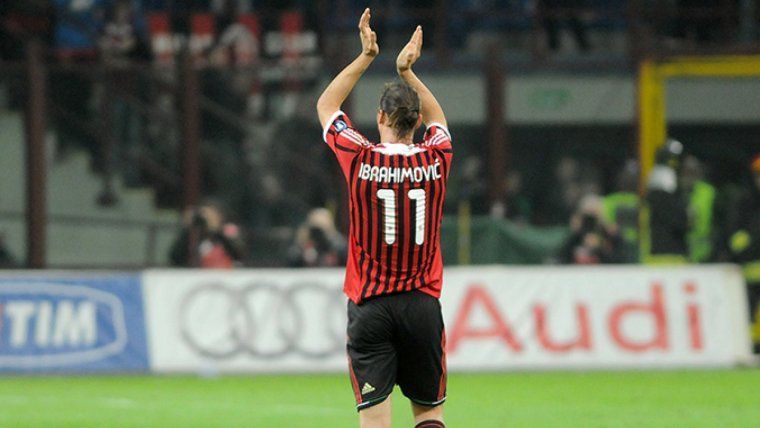 Ibrahimovic, en una imatge d'arxiu.