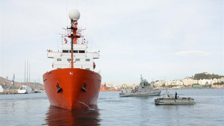 Imagen de archivo de la embarcación.