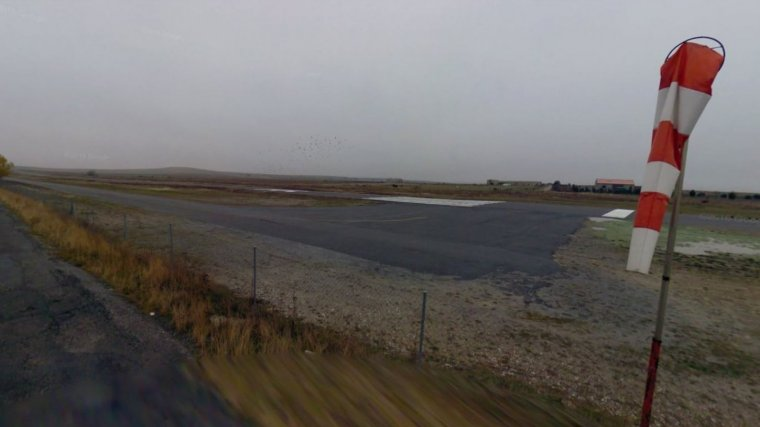 Imagen de archivo de un aeródromo