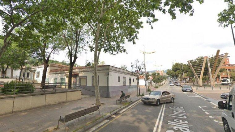Imatge del carrer Urrutia de Nou Barris, on ha tingut lloc el succés