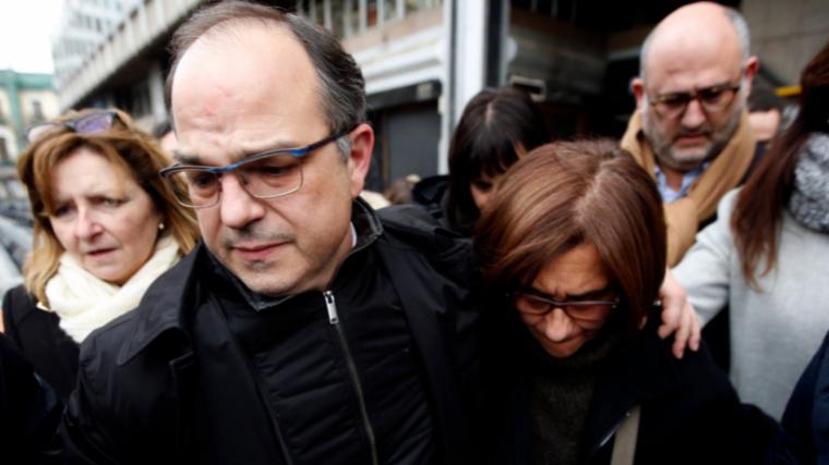 Jordi Turull s'ha sincerat sobre l'impacte emocional que ha suposat per a ell el sisè dia de vaga de fam