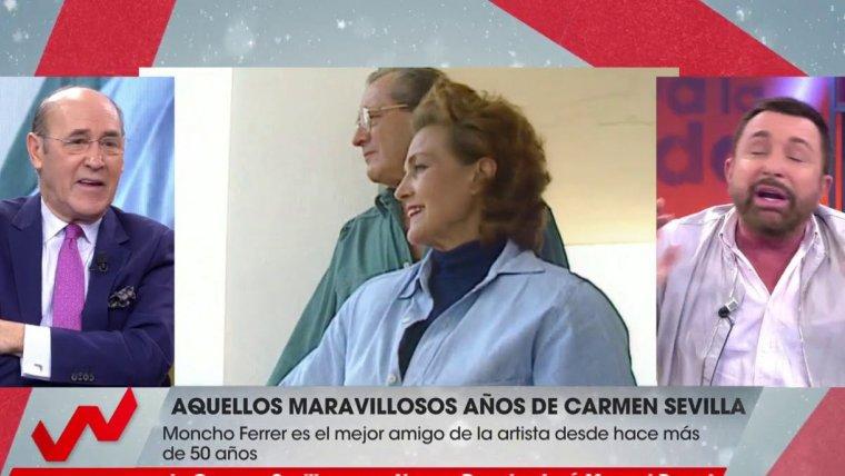 José Manuel Parada declaraba que Carmen Sevilla no era tan buena como aseguran
