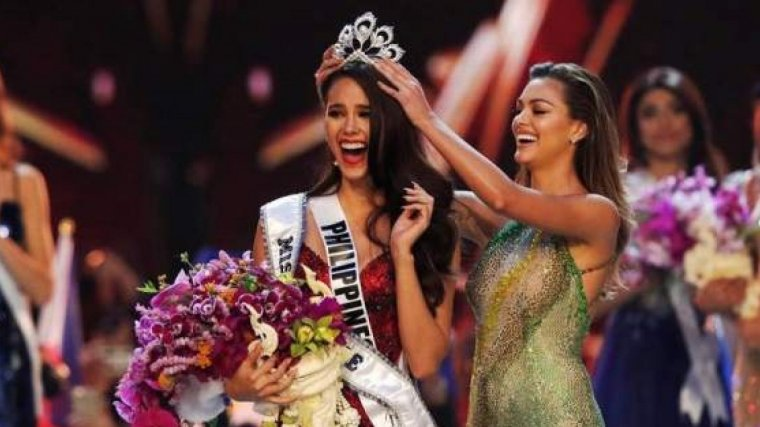 La filipina Catriona Gray es la nueva Miss Universo 2018