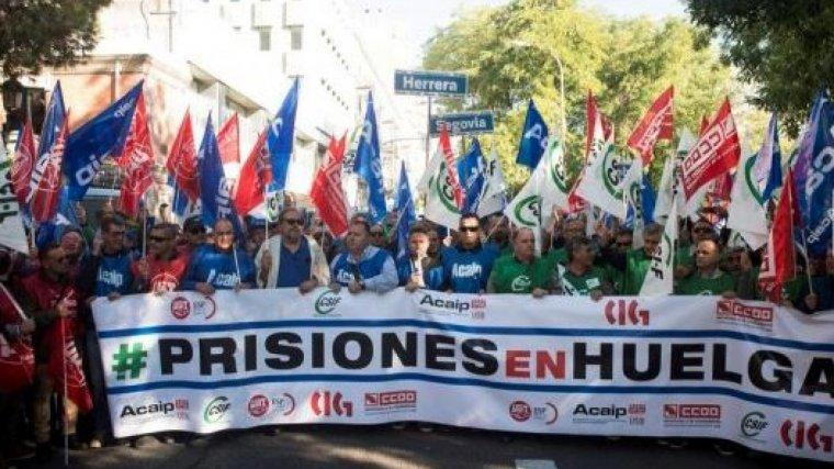 Los funcionarios de prisiones llevan tiempo manifestando que no cuentan con recursos suficientes