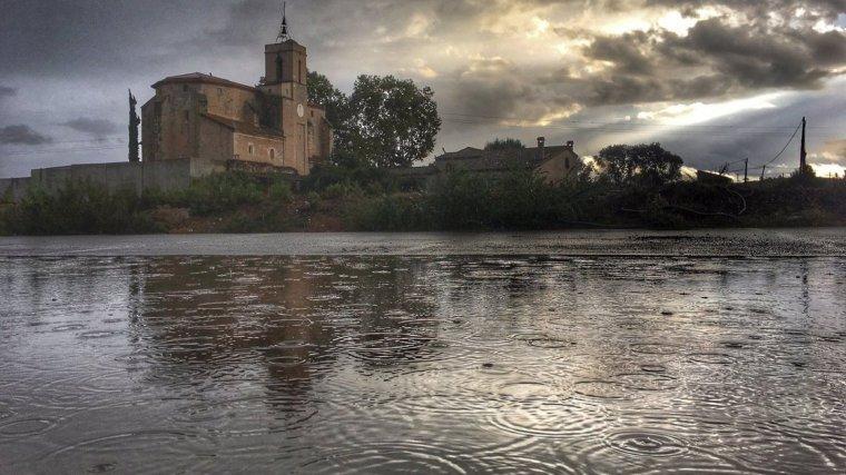 La pluja ha caigut a pràcticament tot Catalunya