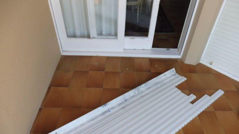 L'estat de portes i finestres pels robatoris amb força a Palafrugell