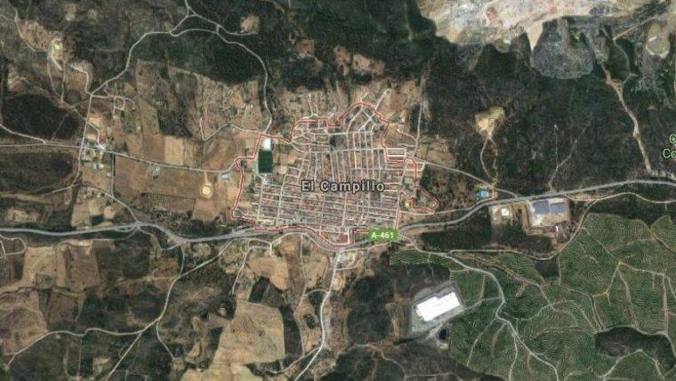 Localidad de El Campillo, en la que residía Laura Luelmo y L.M. antes de su desaparición