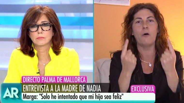 Ana Rosa se sent enganyada, i no vol parlar amb el pare de la petita Nadia