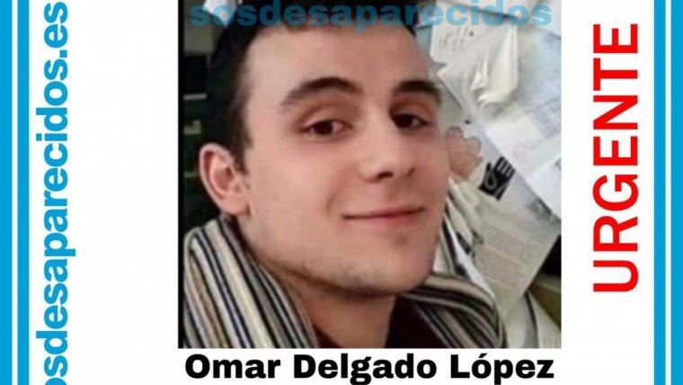 Omar Delgado, el joven desaparecido en Ourense