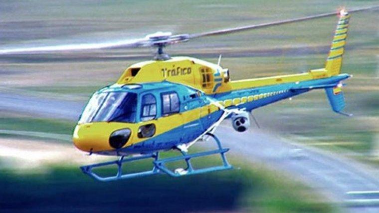 Un helicóptero Pegasus captó al turismo circulando a 232 km/h