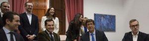 Acuerdo entre PP y Ciudadanos en Andalucía