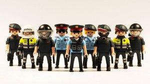 Agents dels Mossos d'Esquadra de Playmobil