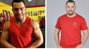 Alberto Isla luce un cuerpo más musculoso