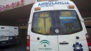 Ambulancia Junta de Andalucía