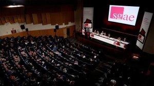 Assemblea extraordinària de l'SGAE el desembre de 2018