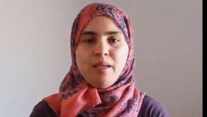 Captura del vídeo d'Afarrich on explica la dramàtica situació que viu la seva família