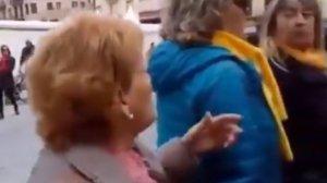Captura del vídeo del qual se n'ha fet ressó el partit polític Vox
