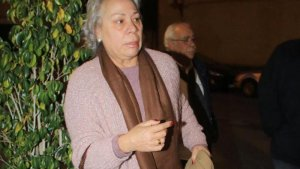 Carmen Gahona acudió a la misa en memoria de Chiquetete sin ser invitada