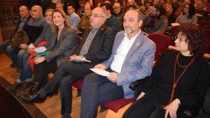 Cartanyà (ERC) ha fet oficial la seva candidatura a l'alcalde de Valls en un acte que ha tingut lloc, avui, al Teatre Principal de Valls.