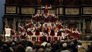 Celebració de la festivitat de la Candela a Valls