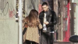 Chabelita y Omar discuten en plena calle
