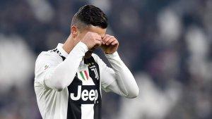 Cristiano Ronaldo, durant un partit amb la Juventus.