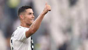 Cristiano Ronaldo, durant un partit de la Juventus.