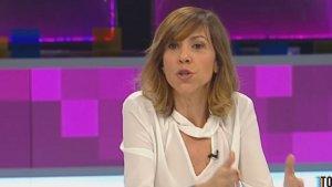 Cristina Puig, nova presentadora del FAQS, va explicar que està molt contenta pel seu nou càrrec