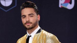 El cantant Maluma, als Grammy