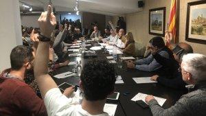 El Consell Comarcal de la Ribera d'Ebre aprova una moció contra el macroabocador de Riba-roja d'Ebre