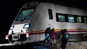 El convoy ha descarrilado a 500 metros de la estación de Torrijos