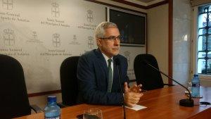 El líder d'IU al parlament autonòmic asturià, Gaspar Llamazares